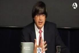 Video: Jaime Bayly fue llamado 'Cerdo' por mujer en una conferencia