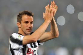 Alessandro Del Piero quiere jugar en el fútbol argentino