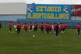 Fútbol Peruano: Selección entrenó en el Alberto Gallardo