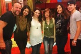 Selena Gomez se reencuentra con actores de Hechiceros de Waverly Place