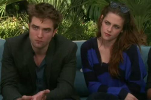 Video: Robert Pattinson y Kristen Stewart juntos de nuevo para entrevista