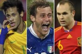 Copa Confederaciones 2013: Fixture dejó a Brasil y España como favoritos
