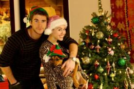 Miley Cyrus tuvo grata Navidad sin muñeco inflable - Fotos