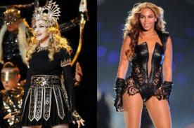Madonna fue más vista que Beyoncé en el Super Bowl