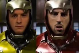 Video: Promocionan final de la Champions League al estilo Iron Man