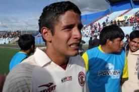 Fútbol Peruano: Reimond Manco descartó jugar por José Gálvez