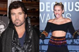 Padre de Miley Cyrus: Sigue siendo mi pequeña niña