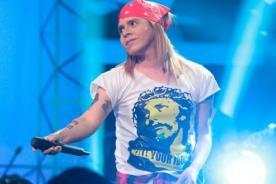 Yo Soy: Axl Rose peruano hizo vibrar el escenario - Video
