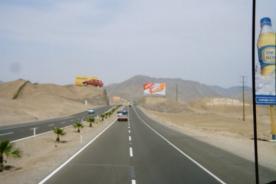 Sismo en Arequipa provoca derrumbes en carretera Panamericana Sur