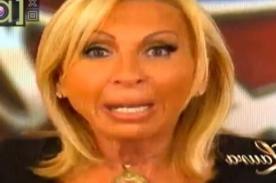 Laura Bozzo llora al aclarar las acusaciones de periodista - Video