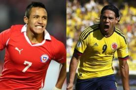 Colombia vs Chile por Eliminatorias Brasil 2014 a las 4:00 de la tarde