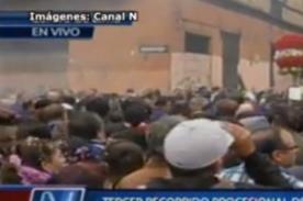 Señor de los Milagros: Así celebran los fieles la procesión - VIDEO