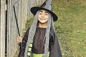 Halloween - disfraz de bruja casero para niña