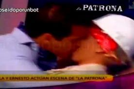 Combate: Ernesto y Yamila se besan apasionadamente - VIDEO