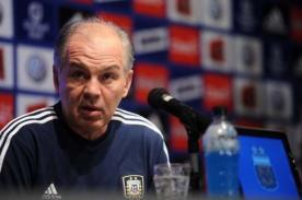 Mundial Brasil 2014: Técnico de Argentina feliz con el grupo que le tocó