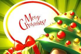 Saluda a tus amigos con frases cortas de Feliz Navidad