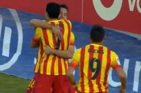 Video de goles: Getafe vs Barcelona (2-5) – Liga BBVA