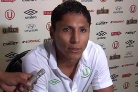 Raúl Ruidíaz: Quiero el bicampeonato con Universitario