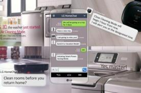 HomeChat: Controla tus electrodomésticos desde tu SmartPhone LG