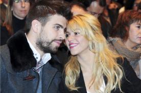Shakira: 'Me siento afortunada de tener semejante hombre a mi lado'