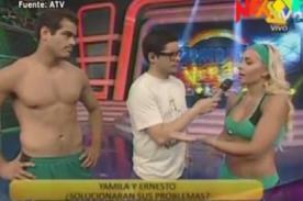 Combate: ¿Yamila Piñero y Ernesto terminan su relación? - Video