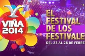 En vivo: Festival de Viña del Mar 2014 online - Cuarta noche de gala