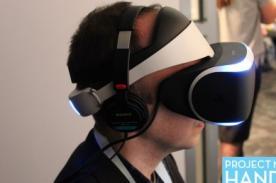 Video: Así funcionaría Morpheus, el casco de realidad virtual del PS4