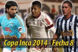 Copa Inca 2014: Entérate de la fecha, hora y canal de la octava fecha del torneo