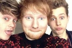 The Vamps espera grabar canción con Ed Sheeran