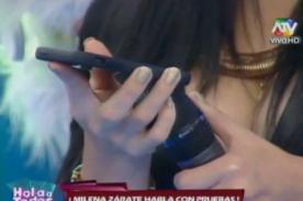 Milena Zárate presenta nuevos audios para desmentir a Edwin Sierra