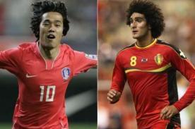 Corea vs Bélgica: Mundial 2014 gratis por DirecTV (Hora peruana)