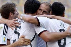 Cuartos de Final Copa del Mundo: Alemania es el primero en semifinal