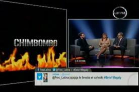 La Hora de la Verdad Magaly Medina: Peluchín y Beto aborrecen la palabra 'Chimbombo'