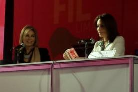 Libro de Gisela Valcárcel es un éxito en la Feria Internacional del Libro