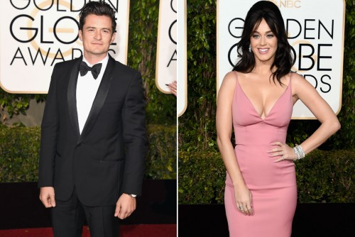 ¿Orlando Bloom irá con Katy Perry a los Grammy?