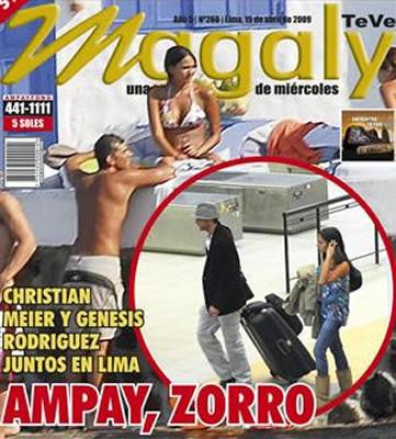 Cibernautas no creen que Marisol Aguirre gane juicio por difamación contra Christian Meier