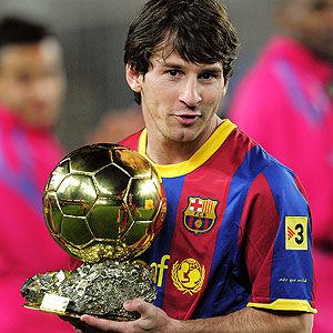 Mundial de Clubes 2011: Lionel Messi se llevó el Balón de Oro