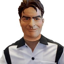 Disfraces de Charlie Sheen entre los más solicitados para Halloween