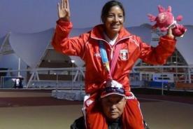 Inés melchor clasificó con nuevo record a los JJ.OO de Londres