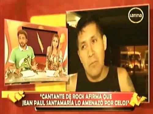 Video: Jean Paul Santa María agredió a cantante por confusión