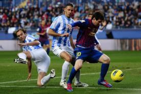 Goles del Barcelona vs Málaga (4-1) - Liga Española - Video