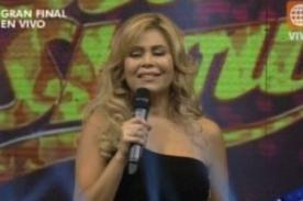 Gisela Valcárcel anuncia regreso de El Gran Show