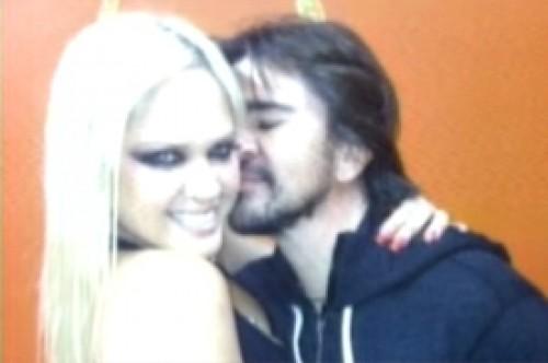 Juanes se mostró muy cariñoso con 'bebita' Anabel Torres