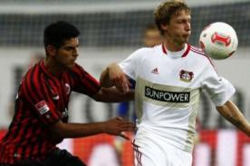 Video: Carlos Zambrano jugó en el empate del Frankfurt - Bundesliga