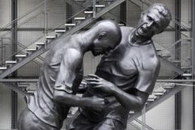 Cabezazo de Zidane fue inmortalizado en una estatua
