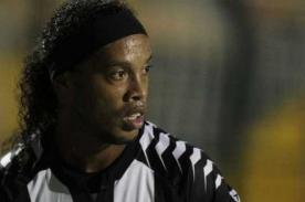 Flamengo sería sancionado por atacar con lásers a Ronaldinho - Video