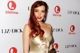 Lindsay Lohan se 'roba' suéter de cantante de The Wanted