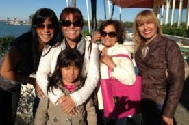 Magaly Medina comparte en Twitter imagen junto a su familia