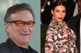 Robin Williams bromea con vestido que usó Kim Kardashian en el Met Ball