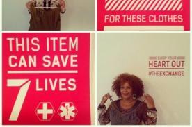 Tienda sudafricana vende ropa a cambio de hacerse donante de órganos